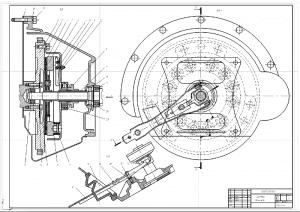 1.Сборочный чертеж сцепления А1
