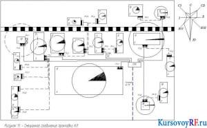 Смешанное соединение прокладки КЛ.