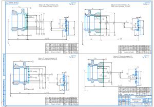 1.Операционные эскизы изготовления детали А1