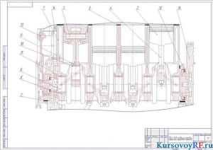 Чертеж общий вид карданной передачи   (формат А 2 )