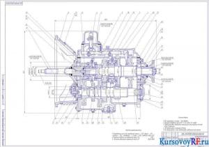 Коробка передач ЯМЗ-236 (формат А1)