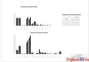 Схема структура и динамика активов и пассивов (формат А1)