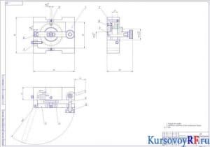 кондуктор для сверления сборочный чертеж