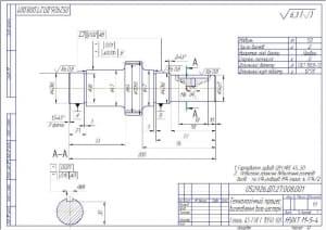 Технологический процесс изготовления вала-шестерни А3