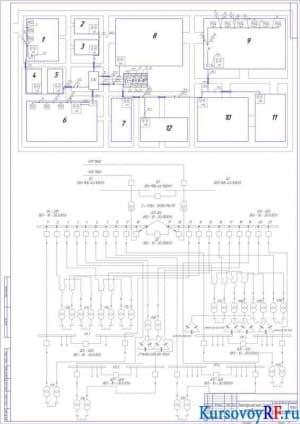 Электрическая схема соединения