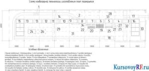 Схема конвейерной технологии изготовления плит перекрытия