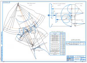 1.Рабочий чертеж синтеза зубчатых механизмов А1