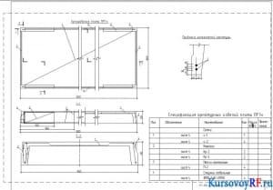 Армирование плиты, привязка напрягаемой арматуры, спецификация арматурных изделий плиты