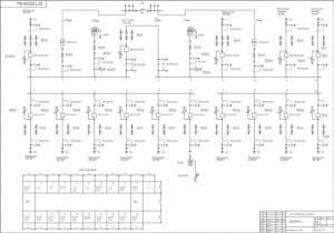 1.Плакат первичных соединений РП-1 10 кВ.  А-1