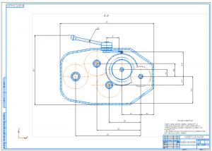 1.Сборочный чертеж коробки скоростей А1