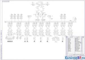 Электрическая схема завода