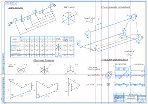 2.Чертежи графиков и диаграмм рядного двигателя А1