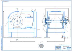 2.Сборочный чертеж приводной станции – привод барабана А1