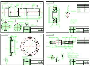 2.Комплект рабочих чертежей деталей конструкции А1