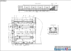 План расположения оборудования в зоне ТО– 2