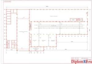 Схема производственный корпус (формат А1)