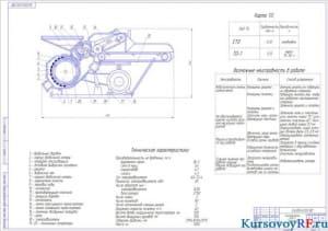 Чертеж кормодробилки КДУ-2 «Украинка»