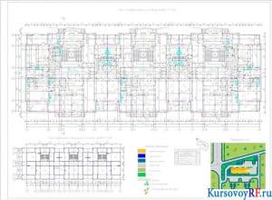 План типового этажа на отметке ±4.200