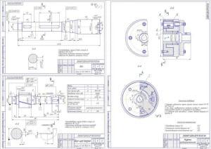 2.Деталировка (вал, вал-шестерня, муфта предохранительная) А2, А3