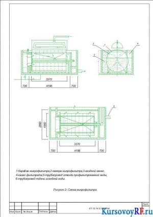 Схема микрофильтра