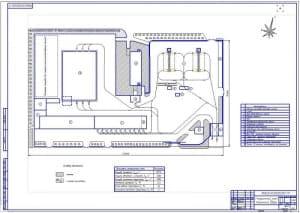 План машинного двора (ф.А1)