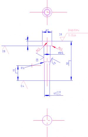 2.Рабочий чертеж пуансона