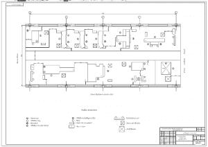 2.Чертеж плана участка по ремонту и восстановлению А1
