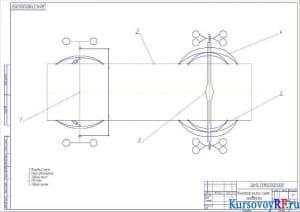 Кинематическая схема подвески (формат А2)