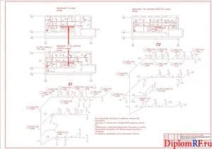Чертеж вентиляции проектируемого здания (административное) (формат А1)