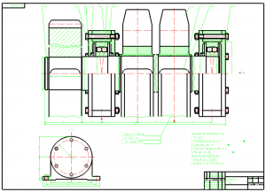 3.Сборочный чертеж приводного вала А1