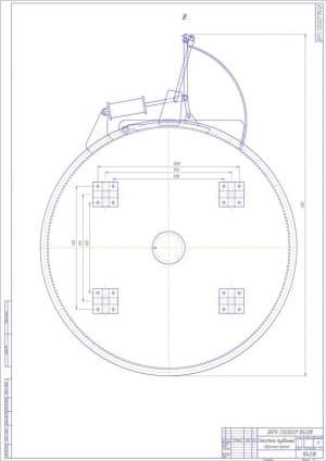 3.Чертеж сборочный Смеситель турбинный А1