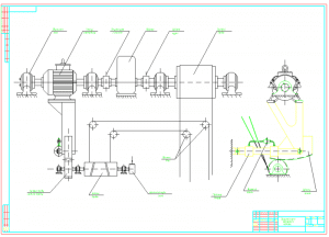 3.Принципиальная схема демпферного механизма А1