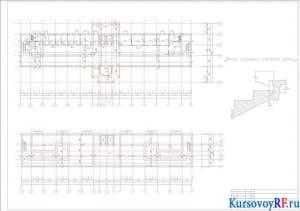 План технического и цокольного этажа