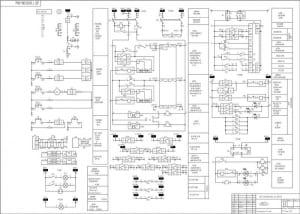 4.Схема РЗА отходящих линий КЛ401-КЛ412 . А-1