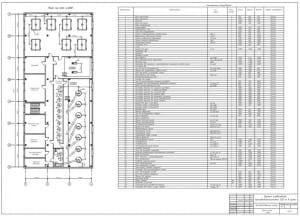 4.Производственный корпус, план на отм 4,800 А1