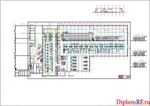 Схема производственный корпус до реконструкции (формат А1)