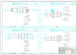 4.Набор чертежей карт эскизов к процессу изготовления детали А1