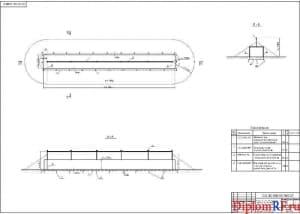 Схема план молниезащиты и заземления энергоблока (формат А1)