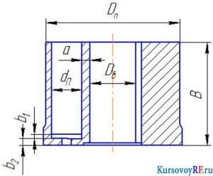 Чертеж расчетной схемы (3 листа)