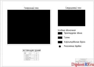 Схема генеральный план (формат А1)