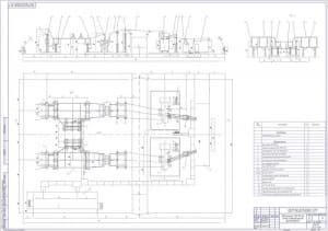 5.Схема электрическая расположения. Подстанция 110/10 кВ А1