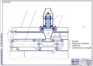 Установка фильтра на двигатель Д-240 (формат А1)