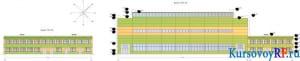 Фасады 1-7 и 1-14 общий вид