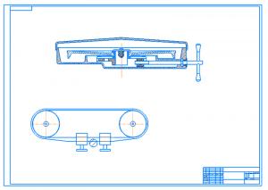 6.Сборочный чертеж в разрезе А1