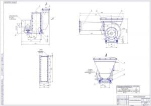 Чертёж системы вентиляции (формат А1)
