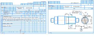 Операционные карты изготовления детали вал с эскизами 19хА4