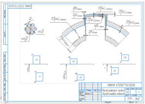7.Схема расположения полей допусков шлицевого соединения А3