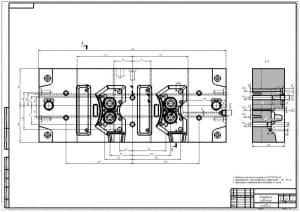 7.Подвижная полуформа А1