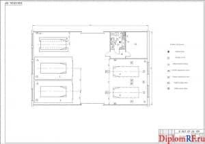Схема зона окраски (формат А1)