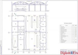 Схема производственный корпус для ТР (формат А1)